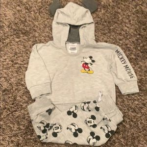 Disney Baby Mickey Mouse Sweatshirt & Pants